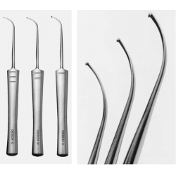 PHLEBECTOMY HOOKS by Dr.OESCH set,3 hooks, right