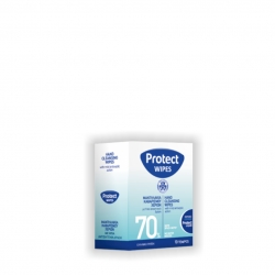 PROTECT WIPES ΑΝΤΙΣΗΠΤΙΚΑ ΜΑΝΤΗΛΑΚΙΑ (10)